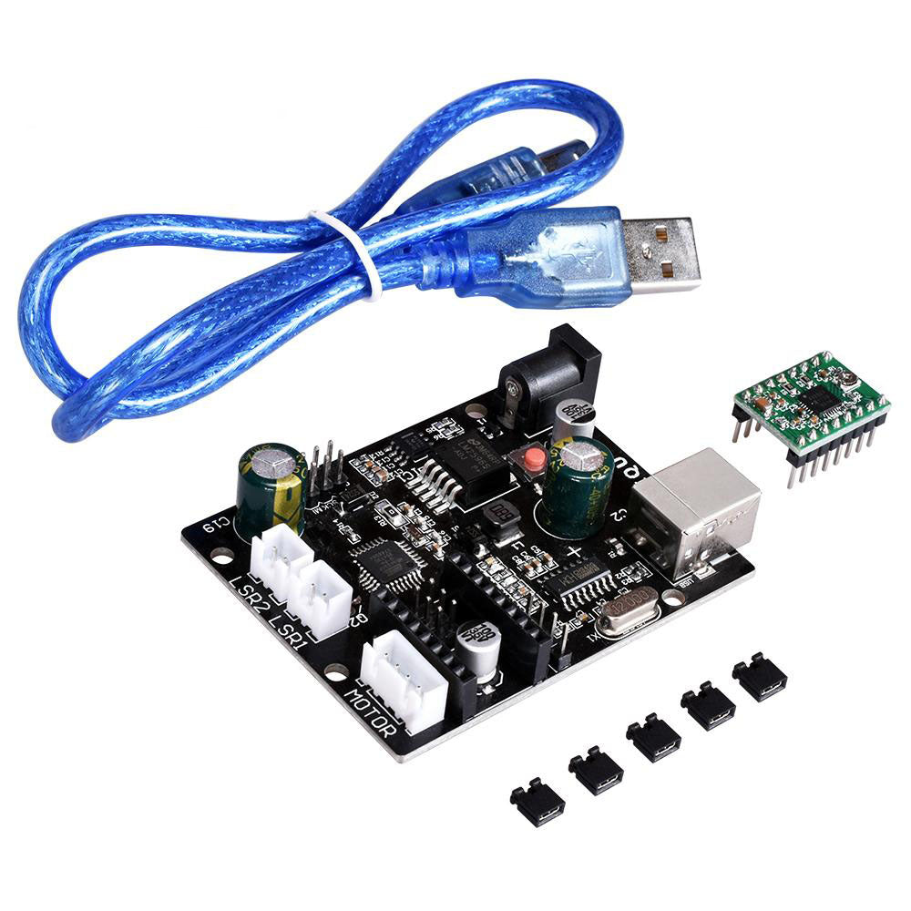 New 3d Scanner Board Integrated Laser Motherboard Diy Accessories Mainboard Microcontroller Dc Motor Driver Schematic Diagram With A4988 Drv8825 Tmc2130 Stepper For