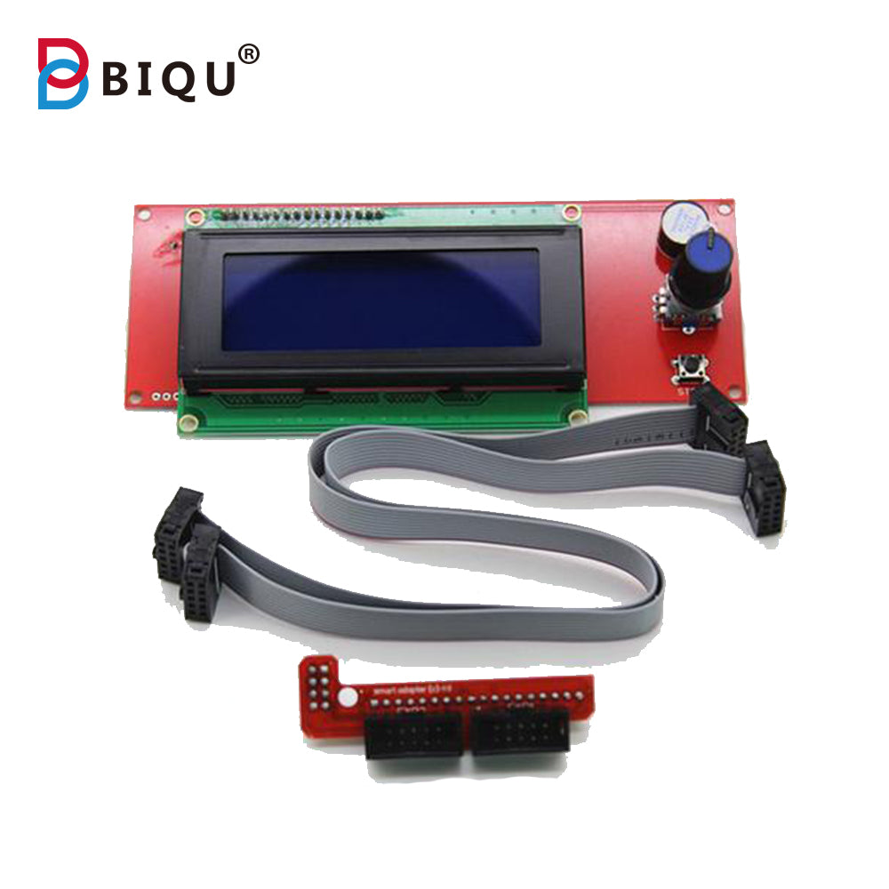 1 Pcs LCD Display 3D Printer Reprap Smart Controller Reprap Ramps 1.4 2004 LCD - Biqu.Store