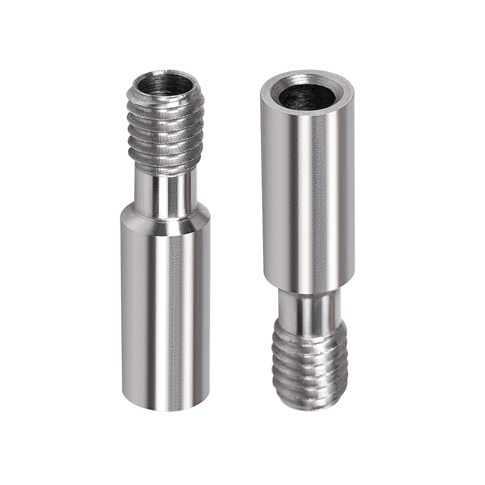 BIQU High Precision Stainless Steel Throat Heat Break D7-M6-L28MM Through For CR10 BIQU B1 3D Printer Parts