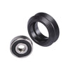 10pcs/Lot Strong Solid V wheel Kit Plastic wheel POM wheel V-type V Pulley for Openbuilds V-Slot rail OX CNC