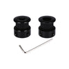 BIQU GT2 Black Color Aluminum Timing Belt Pulley 20 teeth for 3D printer GT2-6mm