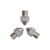 3D Printer stainless steel Nozzle  MK8 Extruder Print Head 0.2/0.3/0.4/0.5/0.6/0.8mm for 1.75mm for 3D printer - Biqu.Store