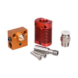 CR10 Hotend Extruder Kit MK8 Extruder 3D Printer Parts for Ender-3 CR10 Printer 1.75mm 0.4mm Nozzle j-head Heater Block parts