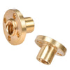 5pcs/Lot 3D printer parts Copper Trapezoidal Screw Nut for T8 Screw T8 nuts stepper motor, rail screw