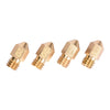 5pcs/Lot MK8 3D Printer Nozzle Mixed Sizes 0.2/0.3mm/0.4mm/0.5mm  Extruder Print Head For 1.75MM Makerbot