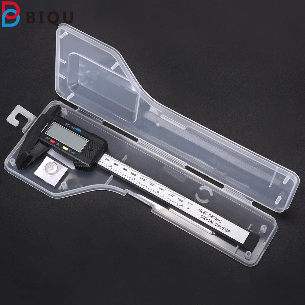 Vernier caliper Carbon Fiber Composite 6 inch 0-150mm Vernier Digital Electronic Caliper Ruler