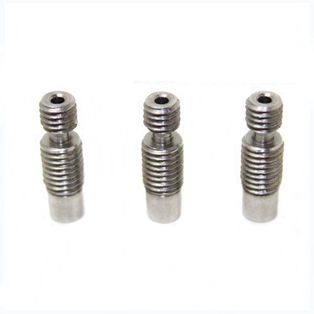 5pcs/Lot E3D V6 Throat Heat Break Hotend Throat All Metal or Teflon Tube Stainless Steel for 1.75/3.0mm Bowden&Direct J-head