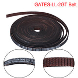 BIQU GATES-LL-2GT 2GT Belt Synchronous Belt 3D Printer Parts Width 6MM 10MM VS GT2-6MM Open Timing Belt For Ender 3