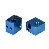 V5 Heater Block Aluminum Block V5 Silicone Sock 3D Printer Parts Fit J-head Hotend Bowden Extruder To Thermistor