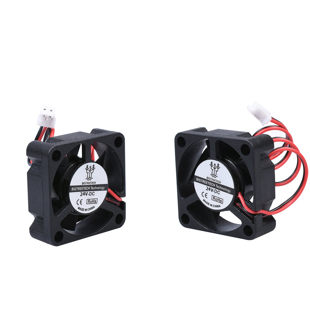 BIQU 4010&3010 24V Cooling Turbo Fan  40*40*10mm 2Pin Quiet 100mm Brushless Blower Mini Fans 3D Printer Parts For B1 3D Printer Extruder