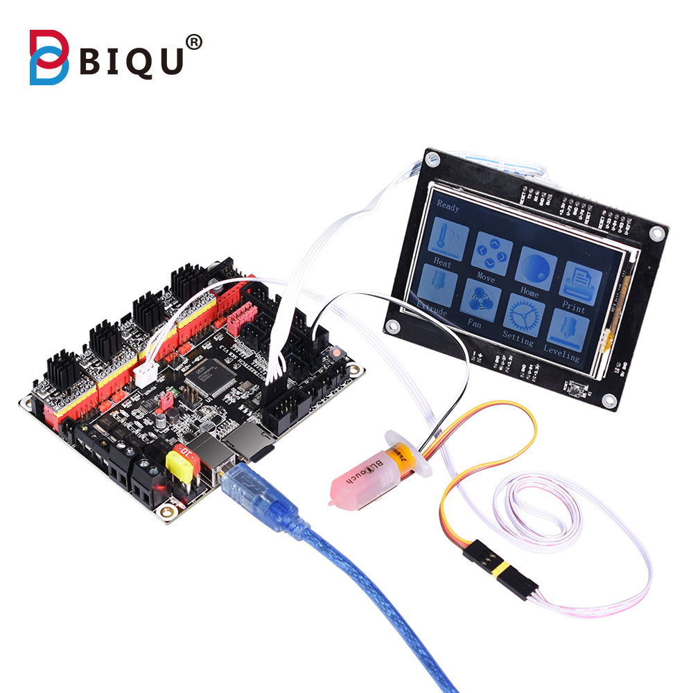BIGTREETECH SKR V1.3 Smoothieboard 32-Bit Motherboard Open Source + TFT3.5/2004LCD/12864LCD Display Support BLTouch Upgrade SKR V1.1 for 3D Printer