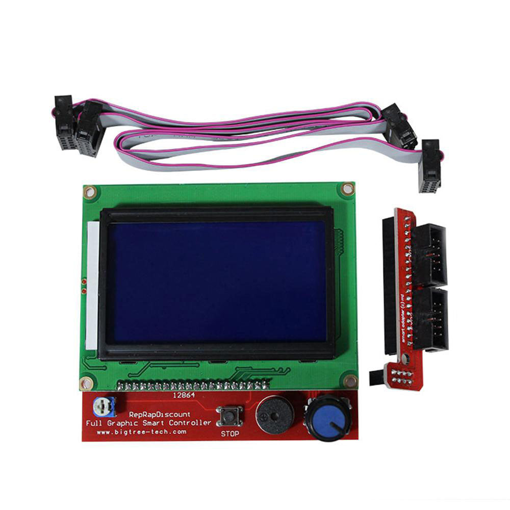 RAMPS1.4  LCD 12864 LCD Control Panel for 3D Printer Smart Controller mega 2560 - Biqu.Store