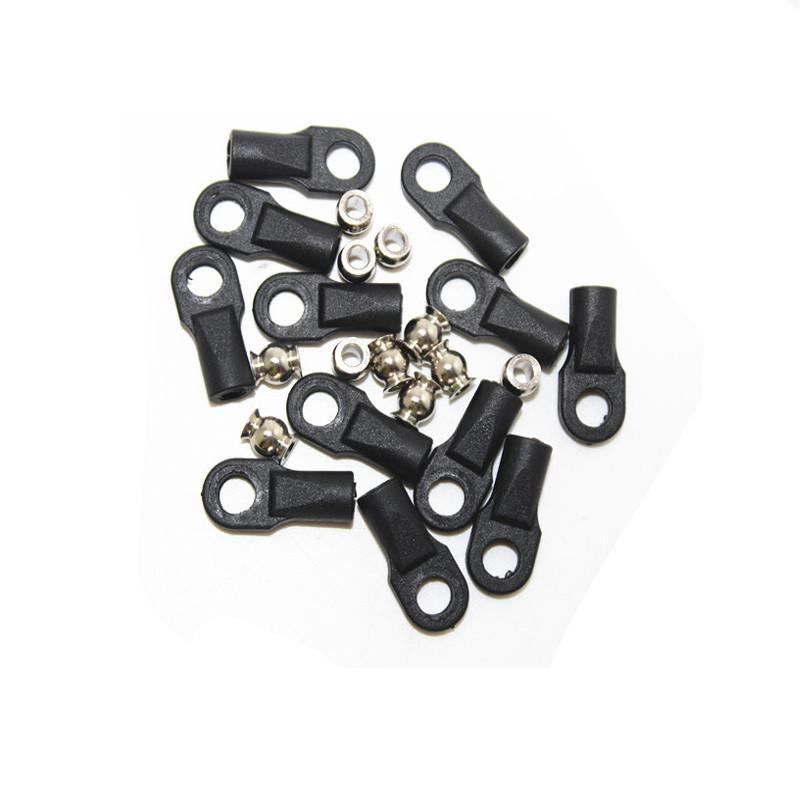 Reprap Delta Kossel mini 5347 Delta ball headed buckle ball caps parallel arm rod carbon rod joints M4 for  3d printer - Biqu.Store