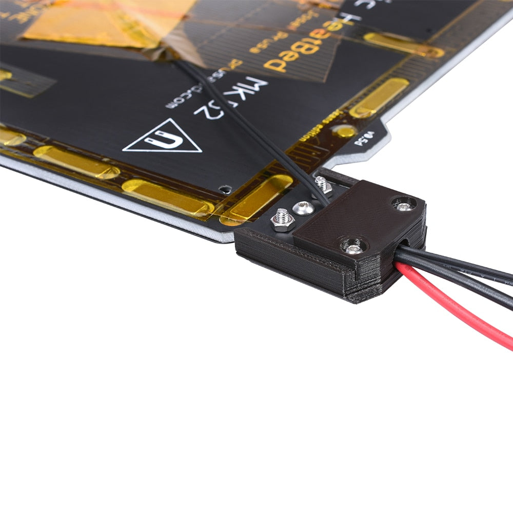 Clone Prusa i3 3D Printer MK3 PCB Magnetic Heated Bed MK52 24V With Magnet Spring Steel Plate For Prusa i3 MK3 MK3S