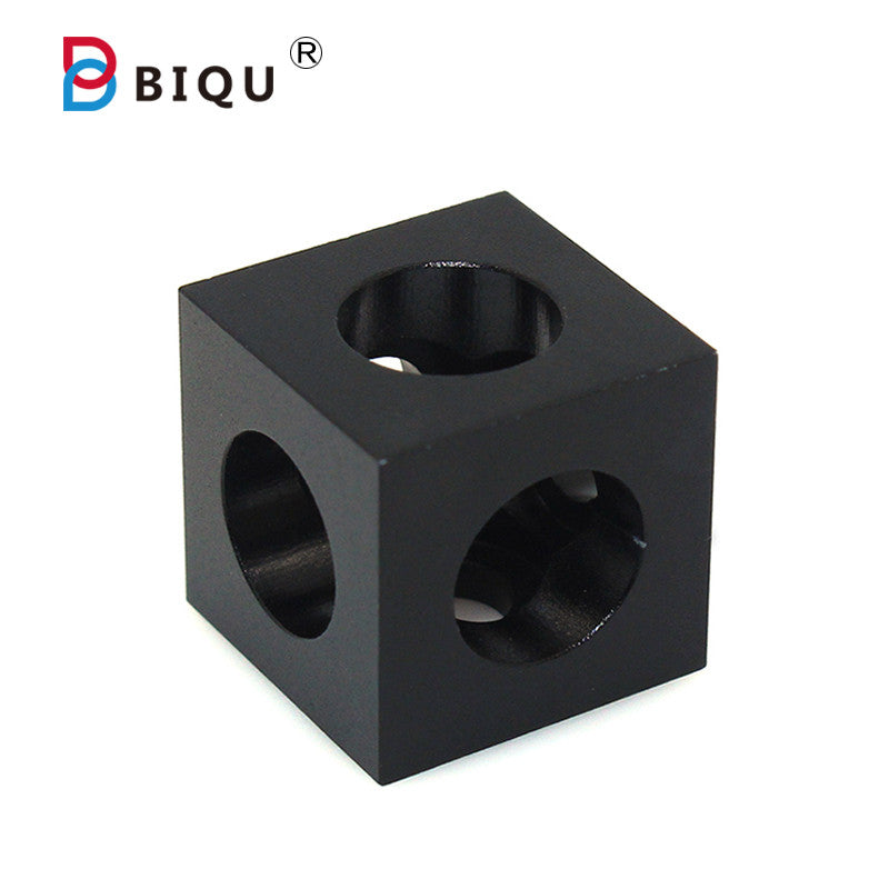 BIQU 3D Printers V-slots Stand Holder Parts Cube Corner Connector Bracket For Openbuilds C-beam Aluminum Profile Extrusion - Biqu.Store
