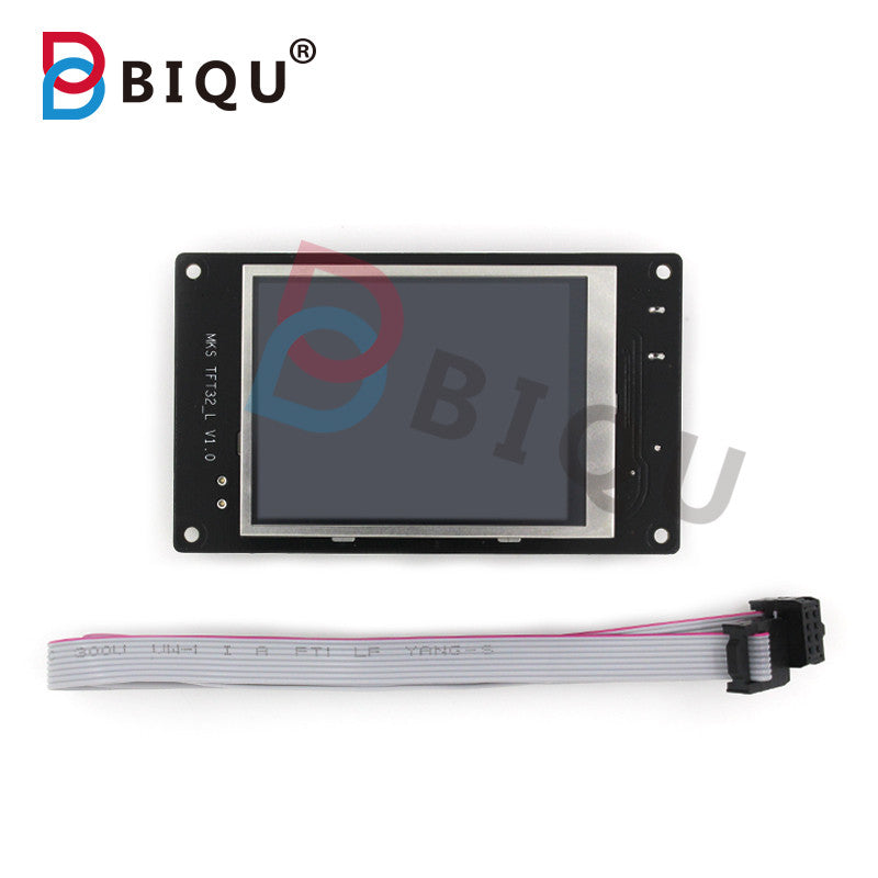 BIQU 3D Printer Control Panel 3.2-inch Full-Color Touch Screen MKS TFT32 Support Breakpoint Break Broken Material Testing - Biqu.Store