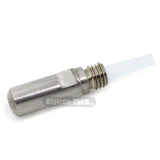 5PCS MK10 M7 threat 3D printer accessories MAKERBOT 2-generation PTFE stainless steel feed pipes M8 throat - Biqu.Store