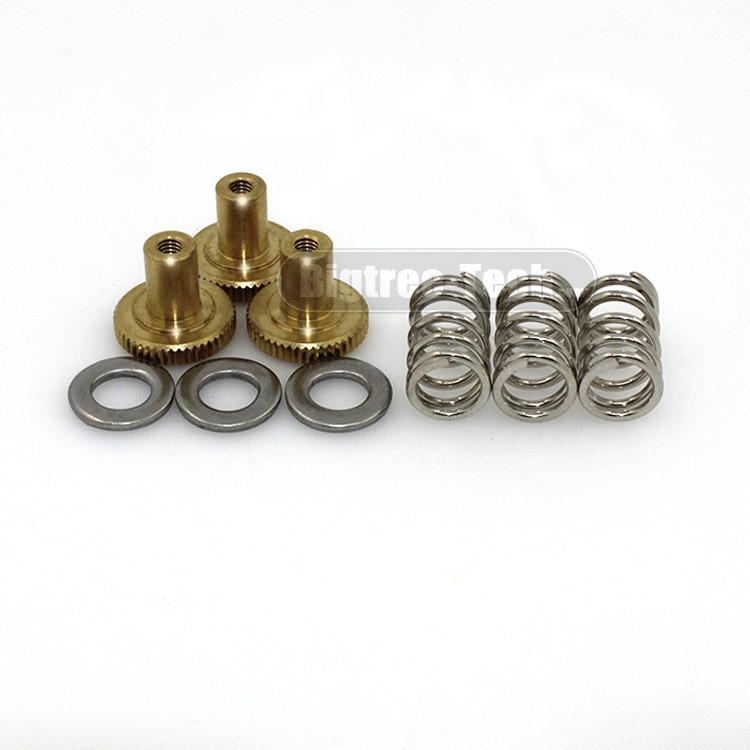 10SET Free shipping 3D printer parts DIY UM2 Ultimaker 2 special printing platform adjustable draw fixed screw nut - Biqu.Store