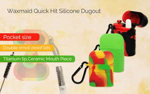 Waxmaid Quick hit 3 colors silicone dugout