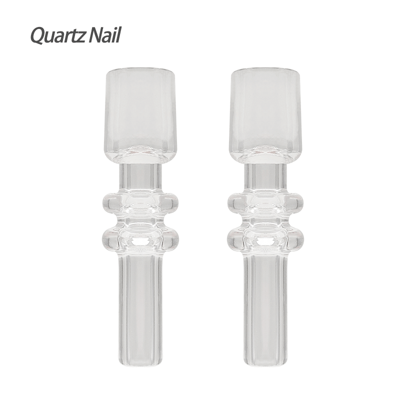 10mm Nectar Collector Quartz Nail Tip (2 Pack) - Waxmaid Store