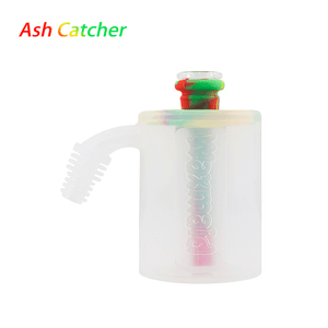 Waxmaid 14mm ash catcher 45 degree-rasta