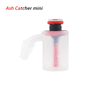 Waxmaid 14mm 18mm Mini Ash Catcher- Black Red