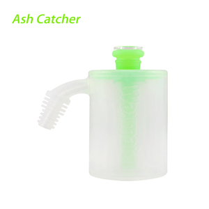 Waxmaid 14mm 18mm Ash Catcher- GID Green