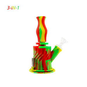 "Waxmaid 6.9"" 3-IN-1 Silicone Water Pipe"