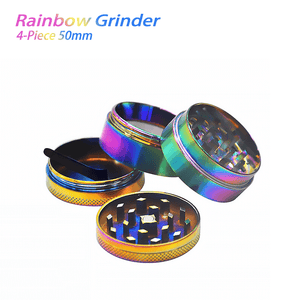 Waxmaid 4-Piece Rainbow Herb Grinder