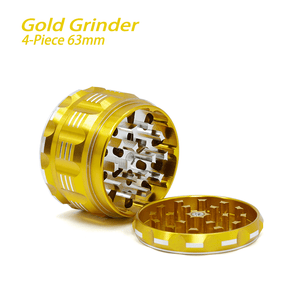 Waxmaid 4-piece polygon herb and spice grinder 63mm