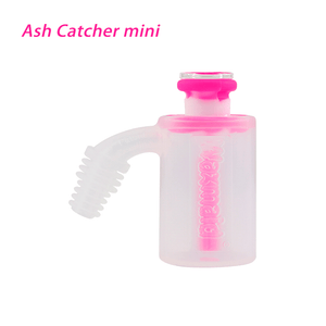 Waxmaid 14mm 18mm Mini Ash Catcher- White Pink