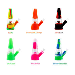 Waxmaid Fountain silicone glass waterpipe multiple colors