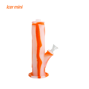 Waxmaid Freezable Icer mini waterpipe-Translucent Orange