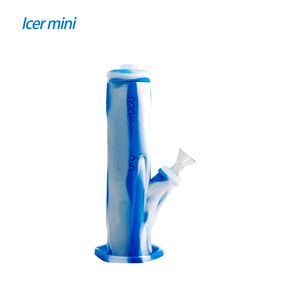 Waxmaid Freezable Icer mini waterpipe-Translucent Blue