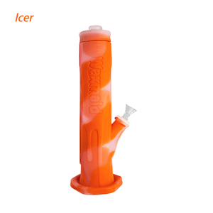 Waxmaid Freezable Icer waterpipe-Translucent Orange