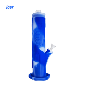 Waxmaid Freezable Icer water pipe-Translucent Dark Blue