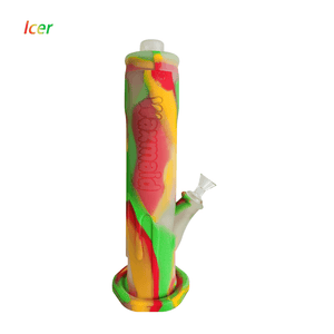 Waxmaid Freezable Icer silicone water pipe-Rasta