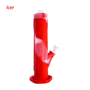 Waxmaid Freezable Icer waterpipe-Translucent Red