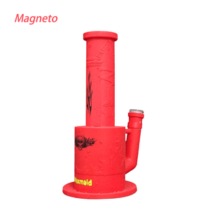 Waxmaid Magneto honeycomb percolator silicone water pipe-red