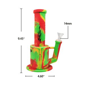 Waxmaid Magneto honeycomb percolator silicone water pipe size and dimension