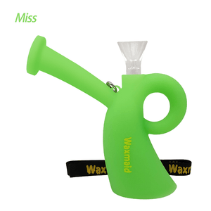 Waxmaid Miss glow in the dark silicone water pipe