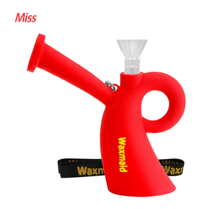 Waxmaid Miss silicone water pipe-Red