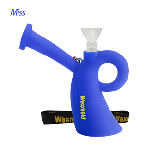 Waxmaid Miss silicone water pipe-Blue