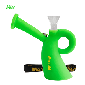 Waxmaid Miss silicone water pipe-Green