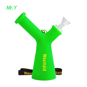 Waxmaid Mr. Y unique water pipe-Green