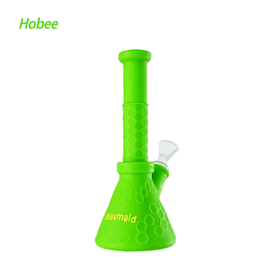 Waxmaid Hobee Silicone Water Pipe-Green