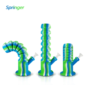 3 ways to smoke Waxmaid Springer silicone water pipe