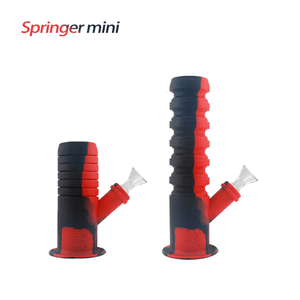 Waxmaid Springer mini collapsible flexible water pipe-Black Red