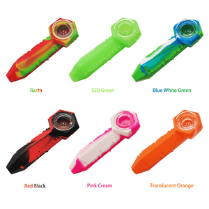 Waxmaid freezable silicone ice spoon pipe multiple colors