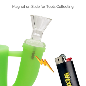 Waxmaid mini Magneto S water pipe details